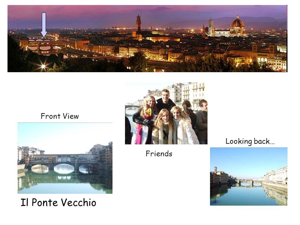 Skyline above the Arno River Duomo Piazza Della Signoria Uffizi Gallery