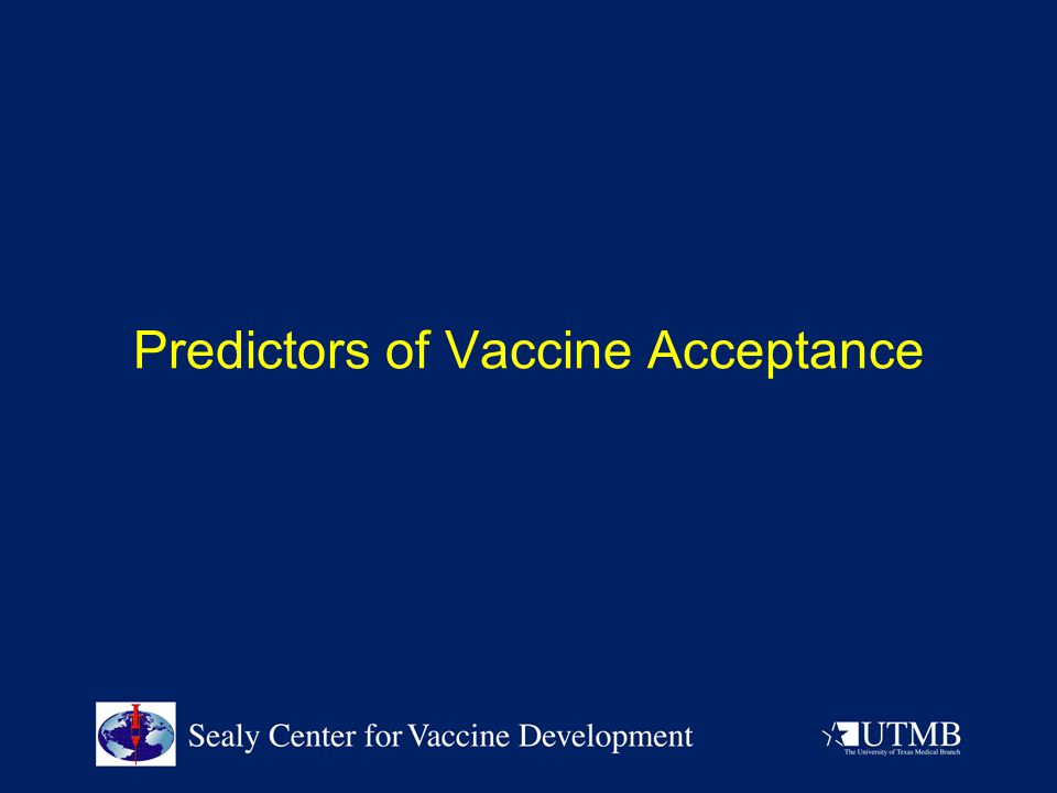 Predictors of Vaccine Acceptance