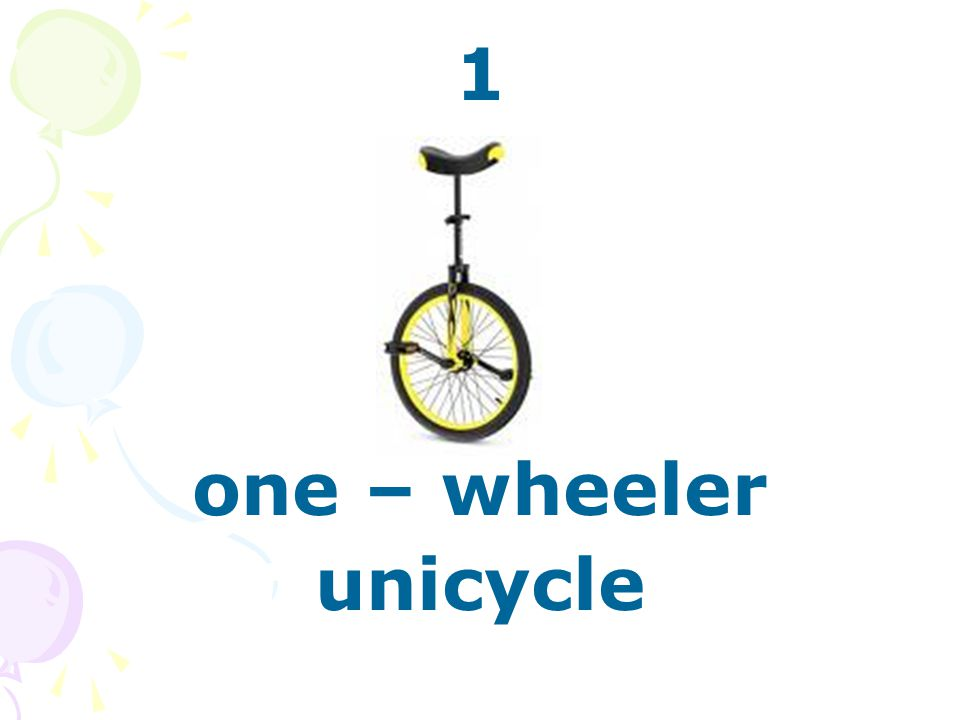 1 one – wheeler unicycle