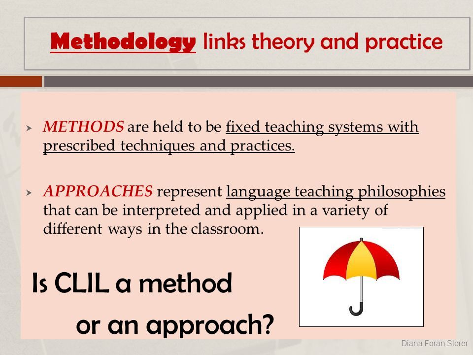  METHODS are held to be fixed teaching systems with prescribed techniques and practices.