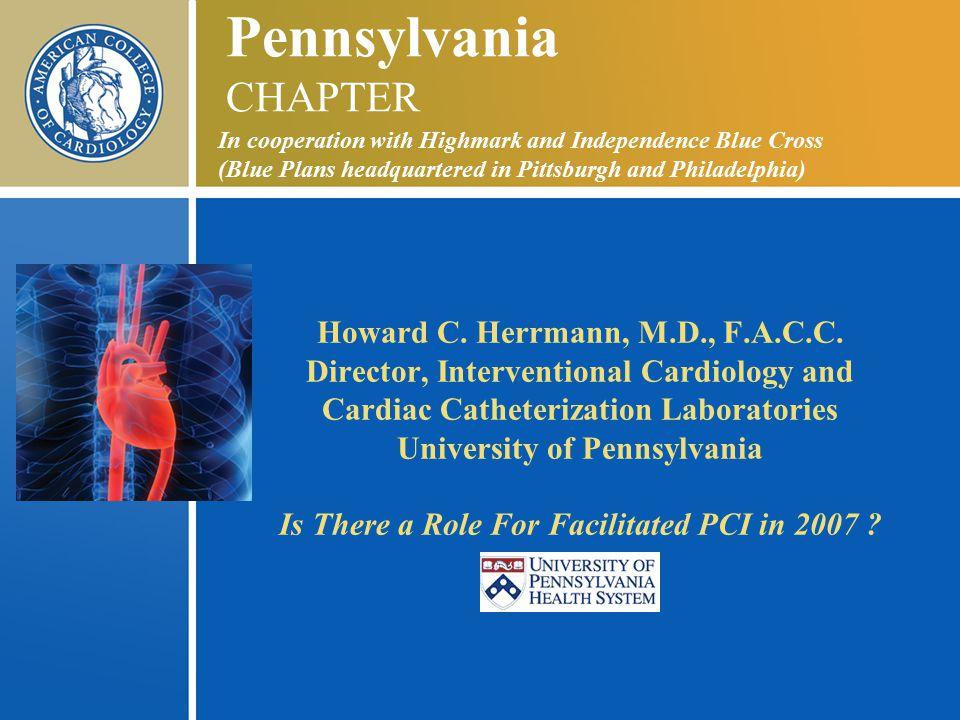 Howard C. Herrmann, M.D., F.A.C.C.
