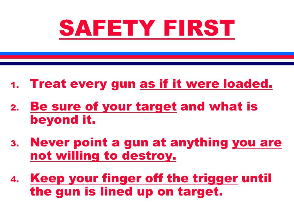 EASY TO USE l Gun and Ammo l Must Be Easy l For You l Your Life Depends on It