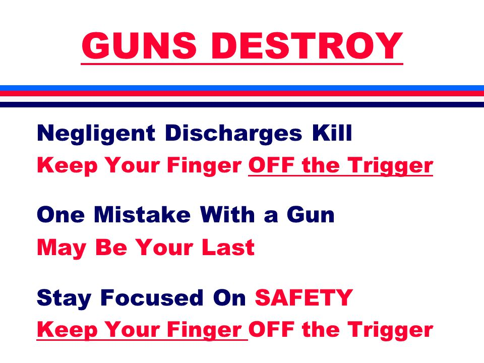 Holsters & Gun Bags l Retention of Gun is Critical l Dozens of Options l Very Personal Choice l Do Not Skimp on Quality l You Will End up With Many