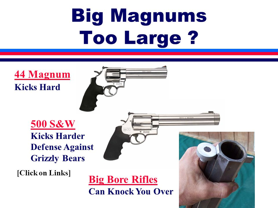 Big Magnums Too Large .