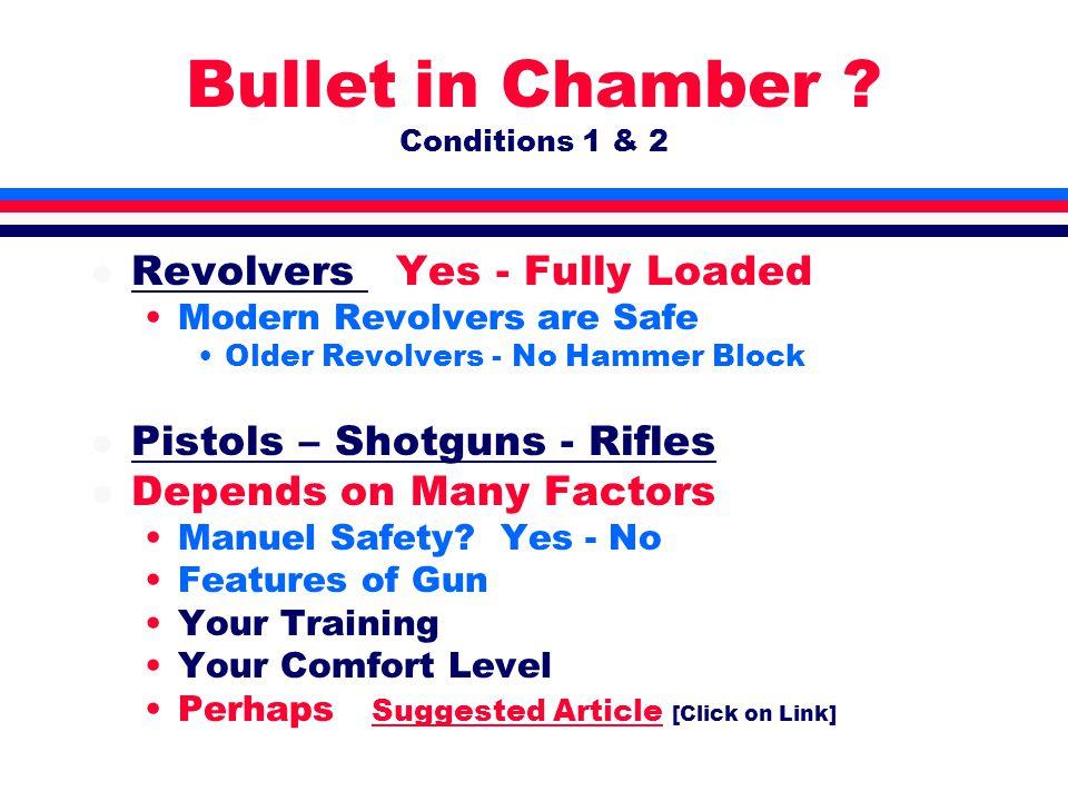 Bullet in Chamber .