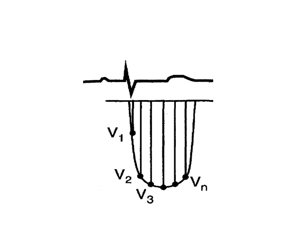 Estimation of RVSP by TR TR doppler signal represents the pressure difference between RV and RA during Systole RVSP-RAP=4(V TR 2 ) In absence of RVOT obstruction RVSP=Pulmonary artery systolic pressure.