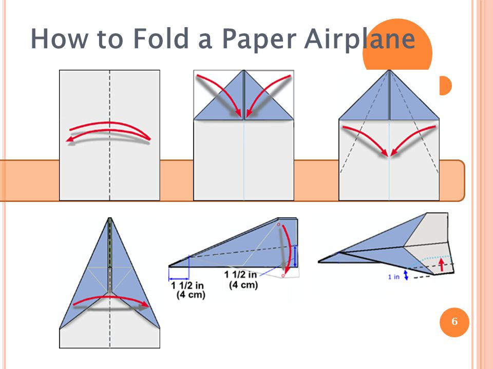 How to Fold a Paper Airplane 6
