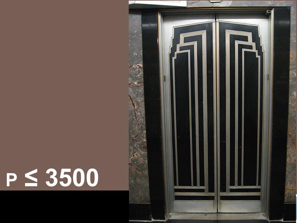 P ≤ 3500