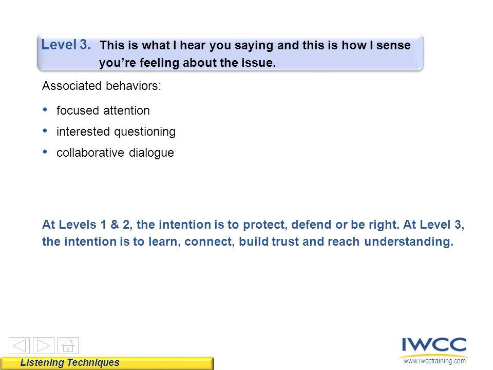 www.iwcctraining.com Level 3.