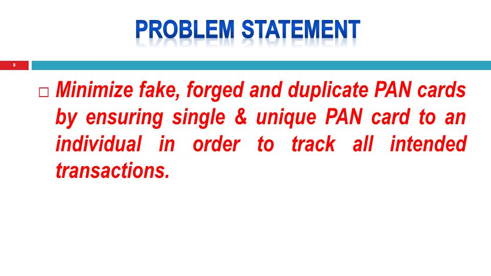 19  Cleaning of PAN Database by seeding with Aadhaar number should be made mandatory.