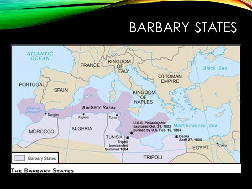 BARBARY STATES