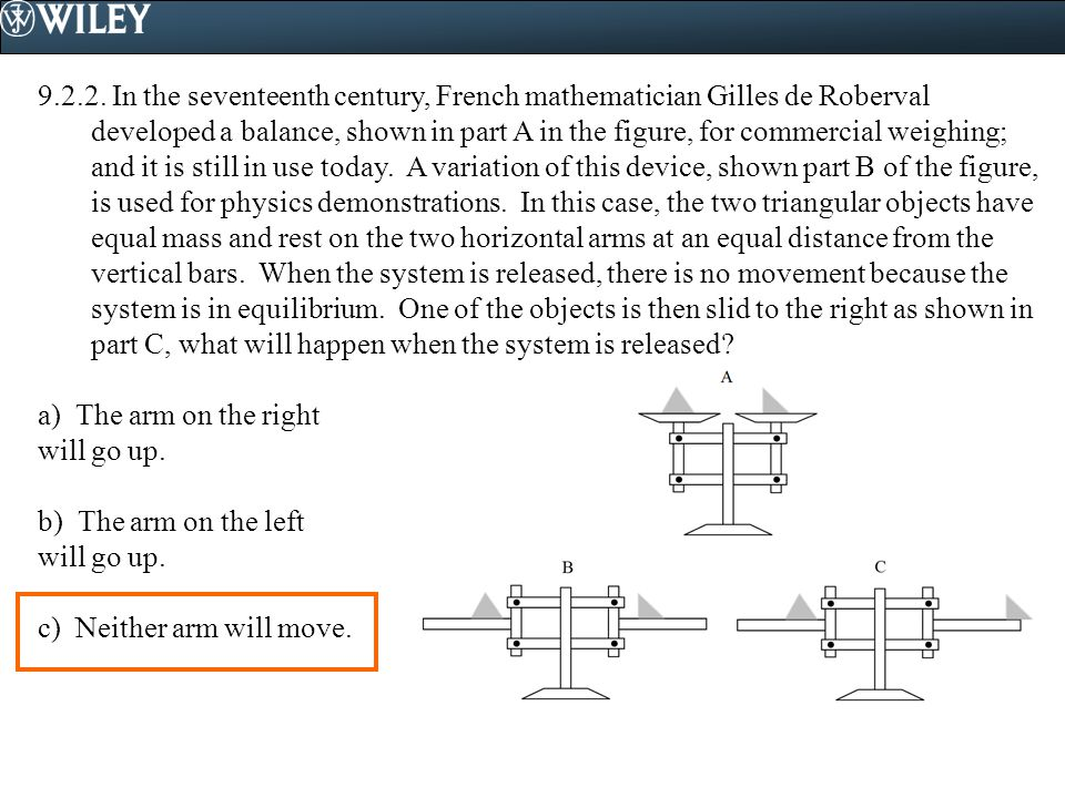 9.2.3.Consider the three situations shown in the figure.