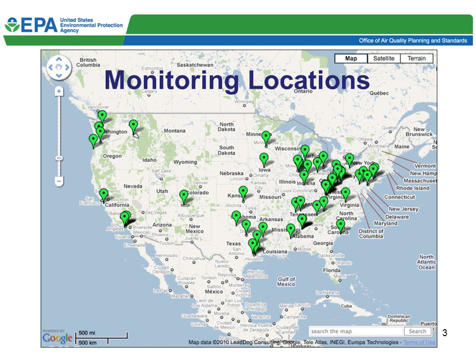 3 Monitoring Locations