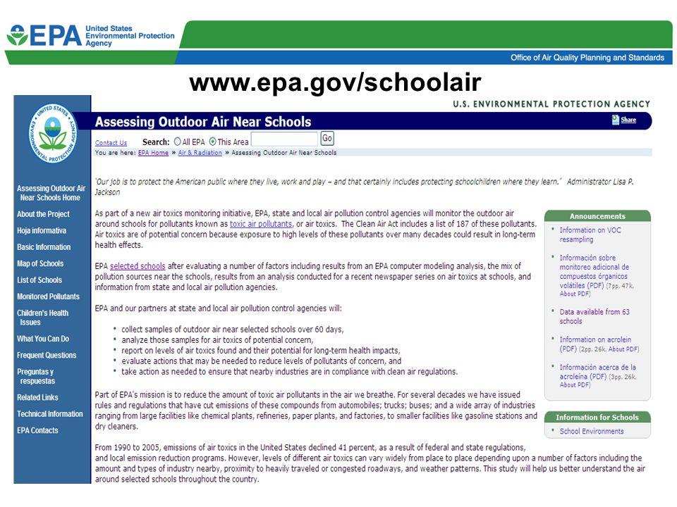 5 www.epa.gov/schoolair