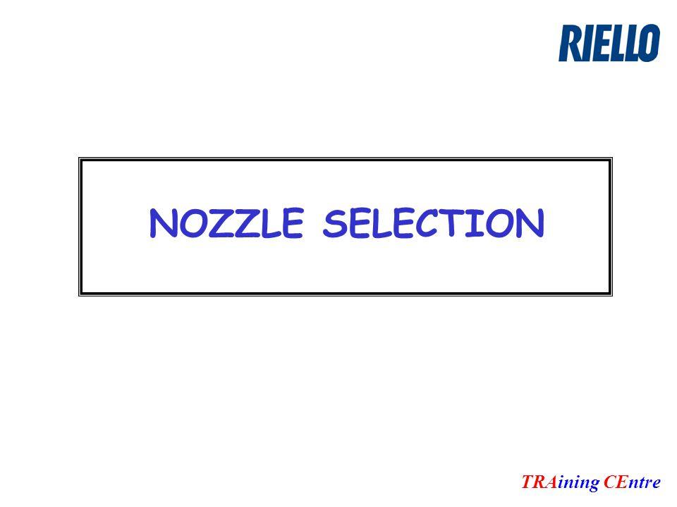 NOZZLE SELECTION TRAining CEntre