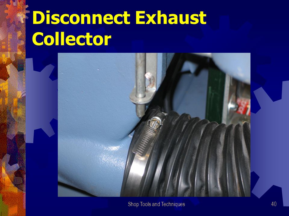 Shop Tools and Techniques40 Disconnect Exhaust Collector