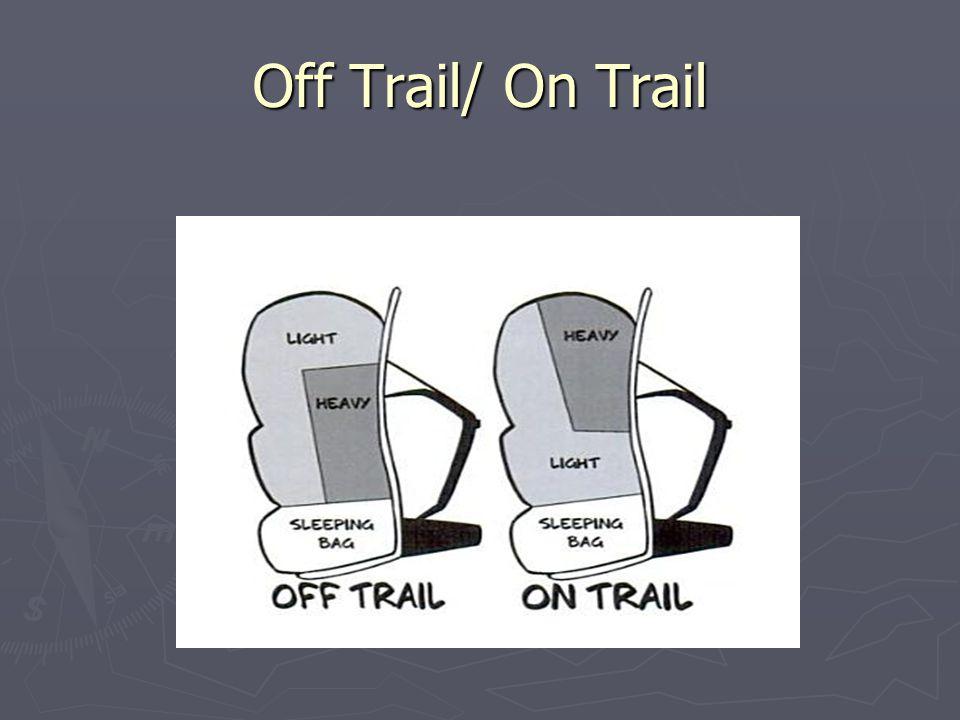 Off Trail/ On Trail