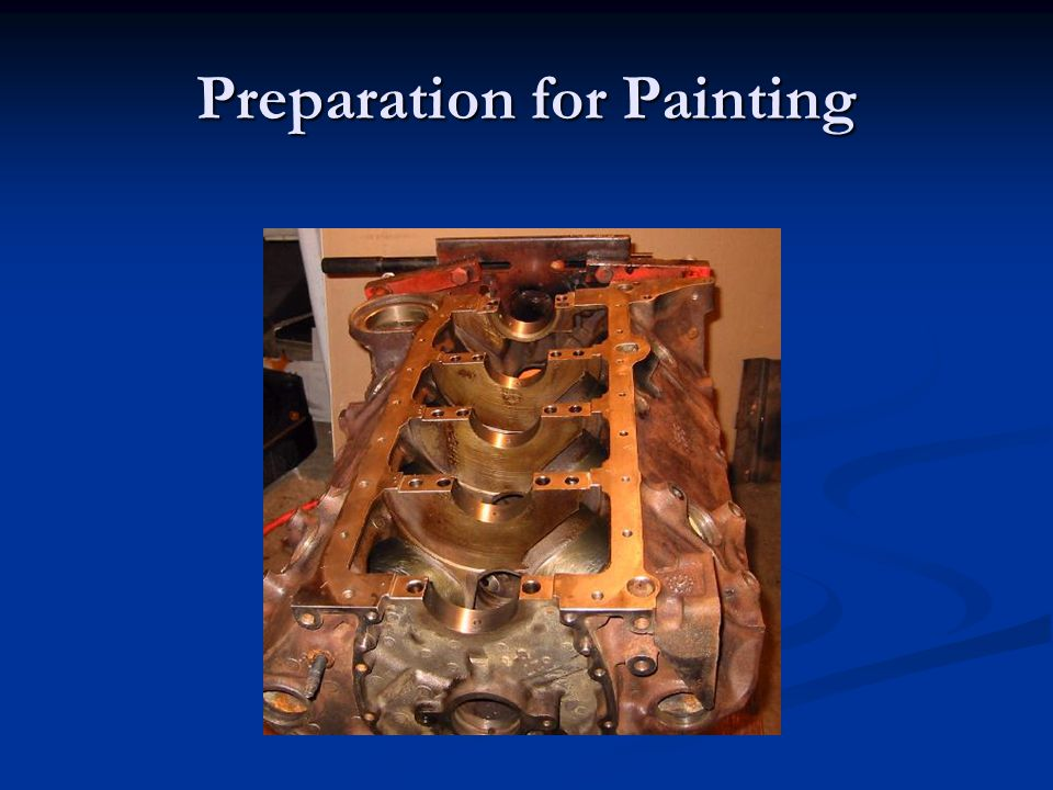 Preparation for Painting