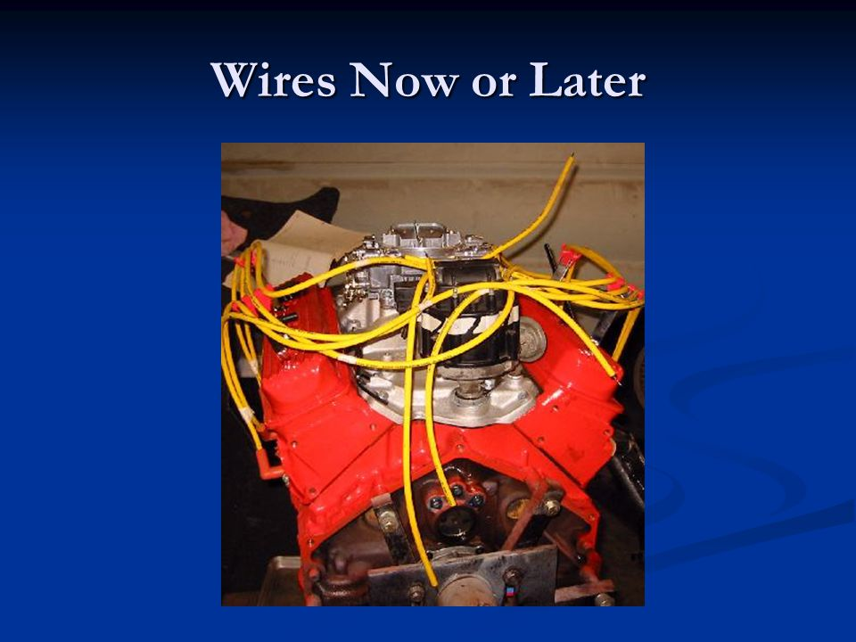 Wires Now or Later