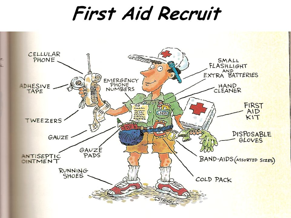 First Aid Recruit