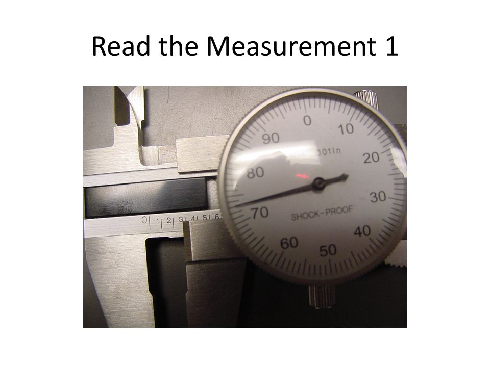 Read the Measurement 1