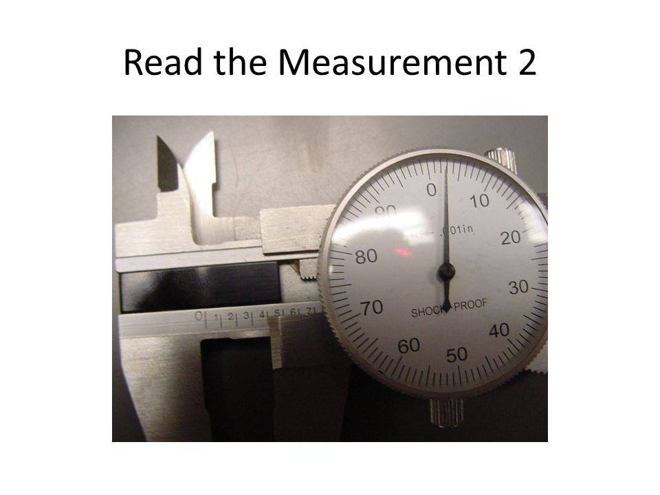 Read the Measurement 2