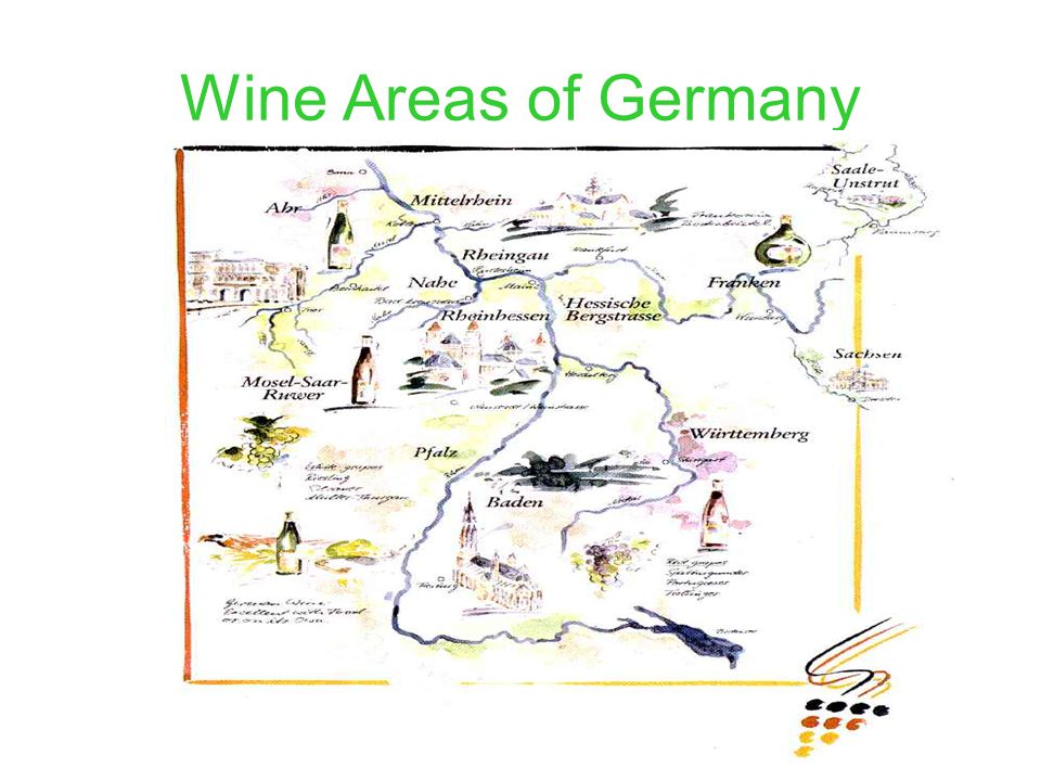 Wine Areas of Germany