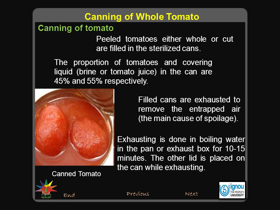 Sealing of Canned tomato Next End Canning of Whole Tomato Previous The exhausted cans are sealed.