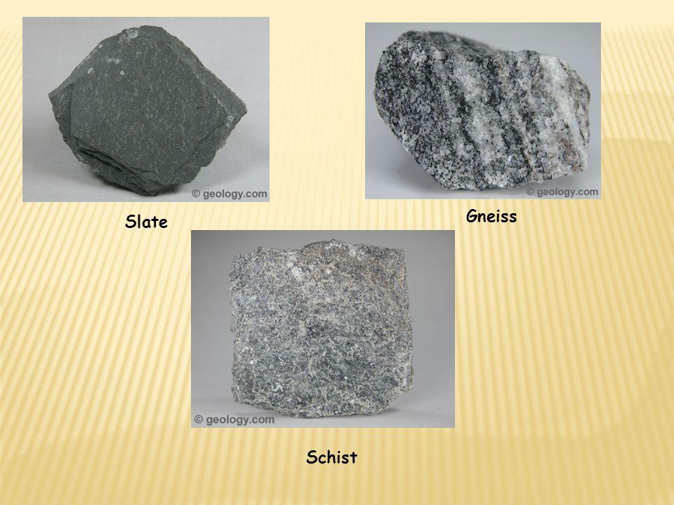 Slate Gneiss Schist