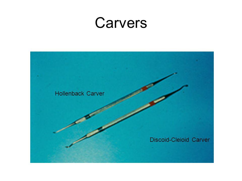 Carvers Hollenback Carver Discoid-Cleioid Carver