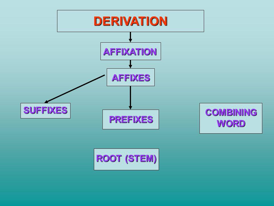 BASIC WORD STRUCTURE Word root: gingiv/al root (gums) Suffix: gingiv/itis suffix (inflammation) Prefix: Prefix: : sub/gingiv/al prefix (below) Combining word: Combining word: : electr/o/cardi/o/gram prefix combining vowel root suffix