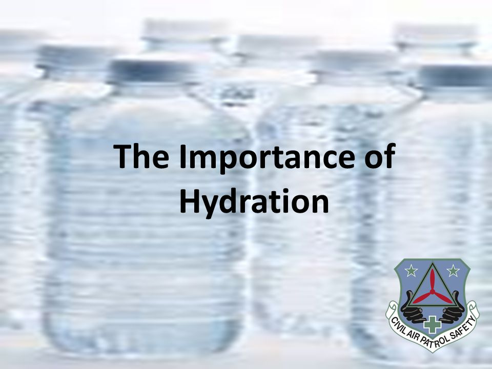 Overview Why is it so important to stay hydrated.How does my body lose water.