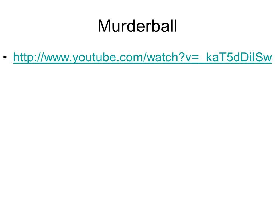 Murderball http://www.youtube.com/watch?v=_kaT5dDiISw