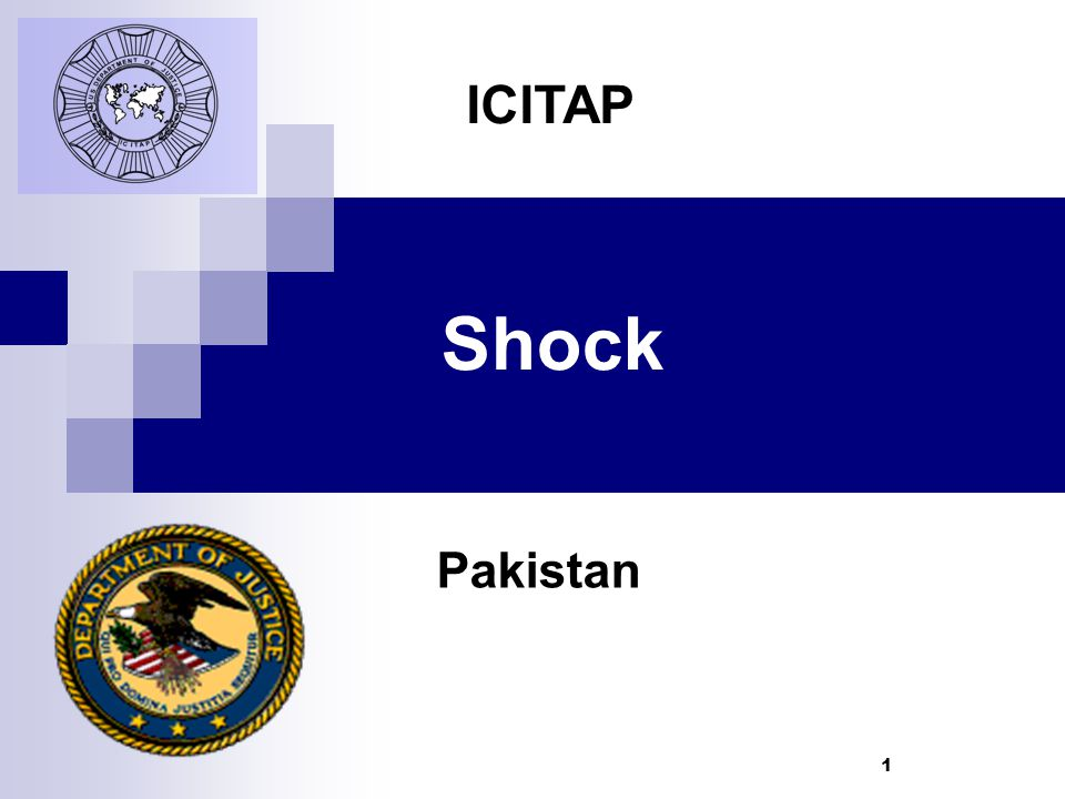 1 Shock Pakistan ICITAP