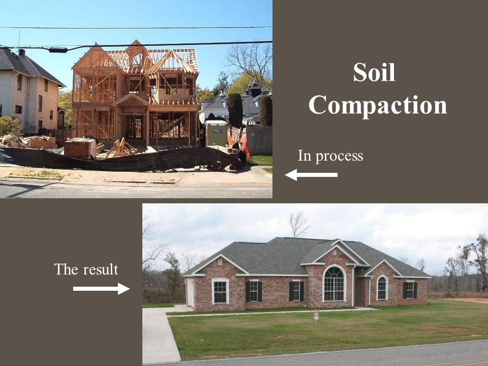 Soil Compaction In process The result