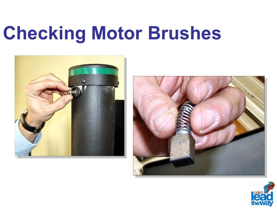 Checking Motor Brushes