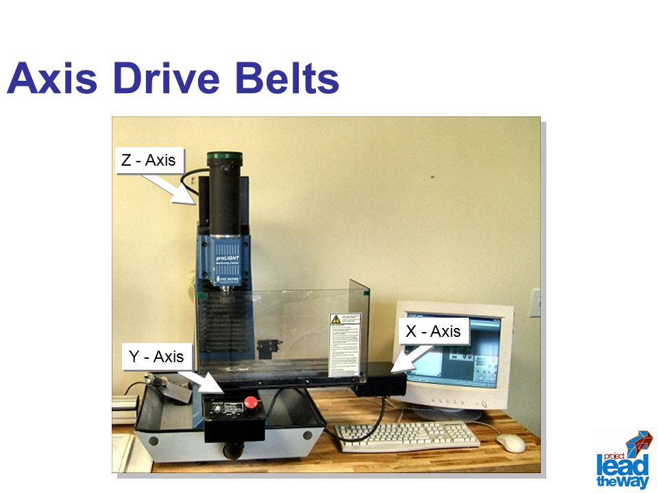 Axis Drive Belts X - Axis Y - Axis Z - Axis