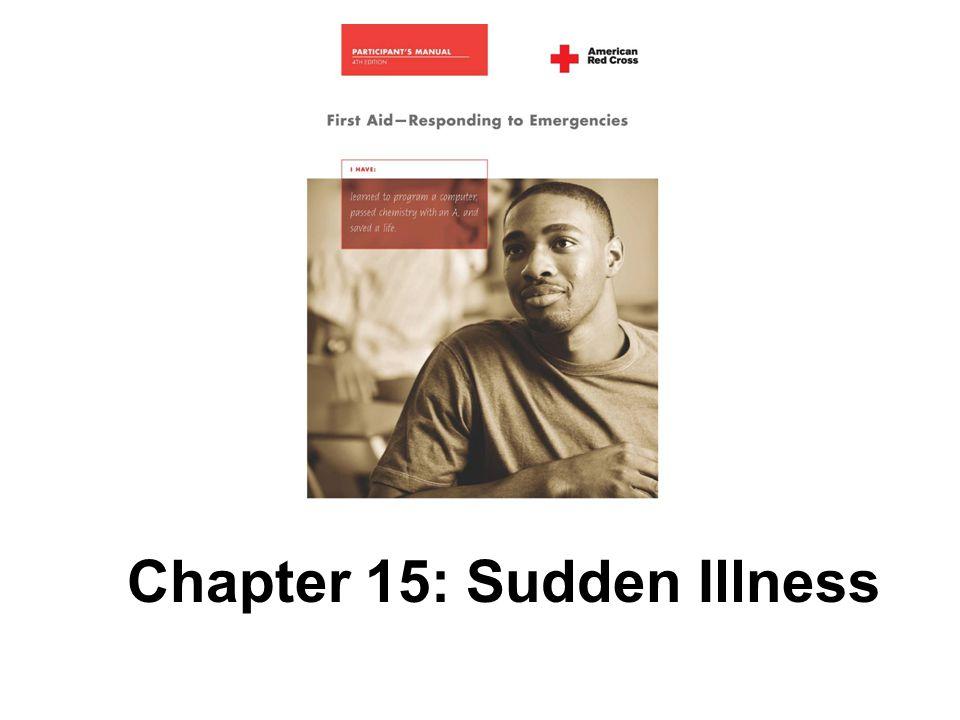 Chapter 15: Sudden Illness