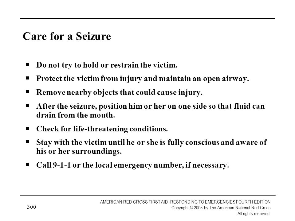 300 AMERICAN RED CROSS FIRST AID–RESPONDING TO EMERGENCIES FOURTH EDITION Copyright © 2005 by The American National Red Cross All rights reserved. Car