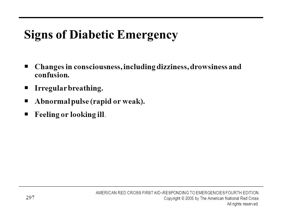 297 AMERICAN RED CROSS FIRST AID–RESPONDING TO EMERGENCIES FOURTH EDITION Copyright © 2005 by The American National Red Cross All rights reserved. Sig