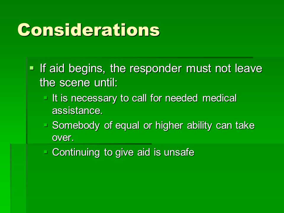 Chest compressions Compress chest 1/3 to ½ depth of victim's chest