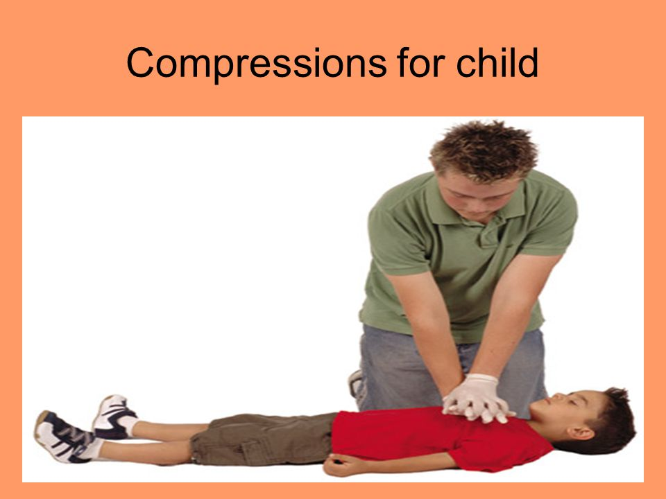 Compressions for child