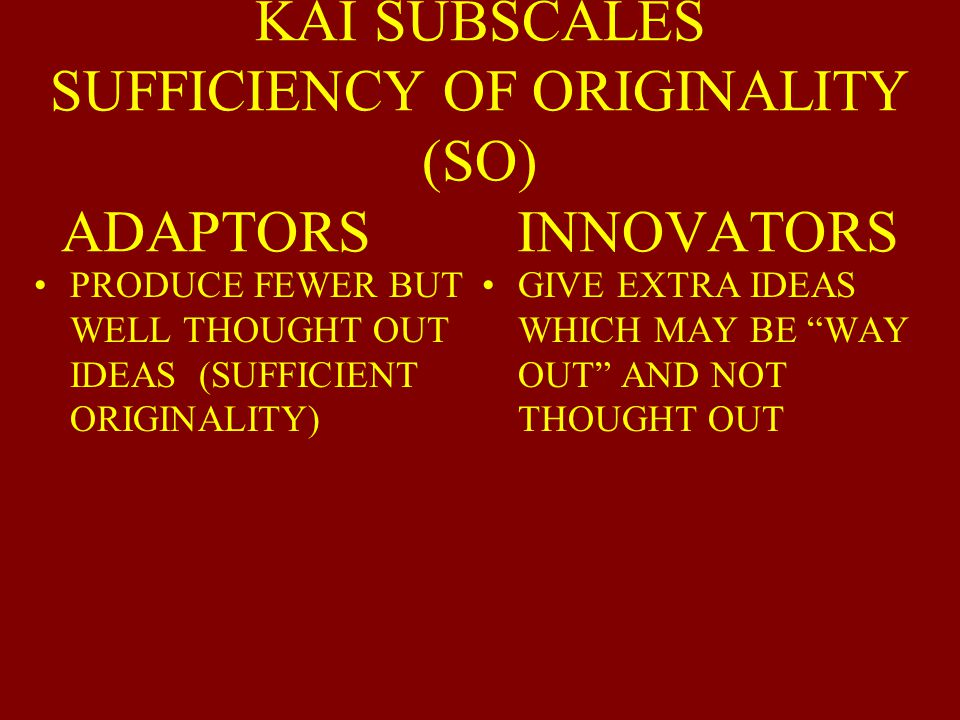 10 POINT KAI DIFFERENCE NOTICEABLE OVER TIME 20 POINT KAI GAP CAN LEAD TO COMMUNICATION PROBLEMS MUTUAL RESPECT, SKILL, AND COPING BEHAVIOR IS NEEDED