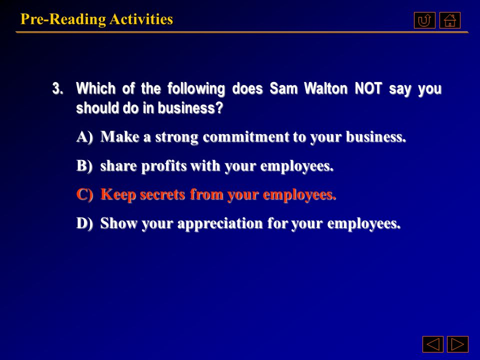 2.What does Sam Walton say about hard work and cooperation.