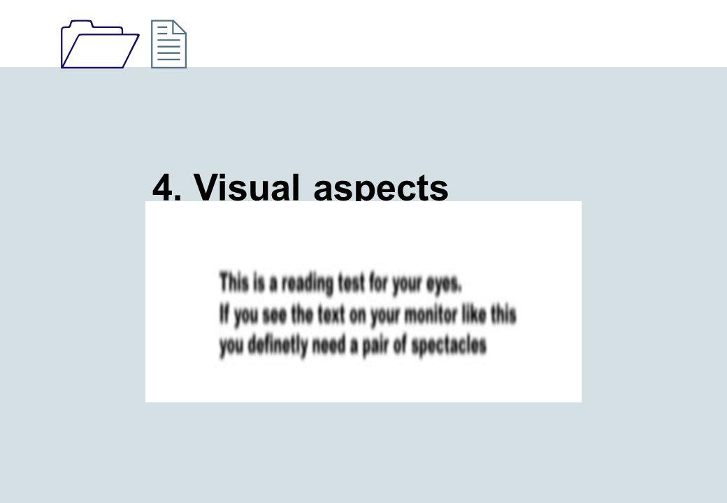 1212 4. Visual aspects