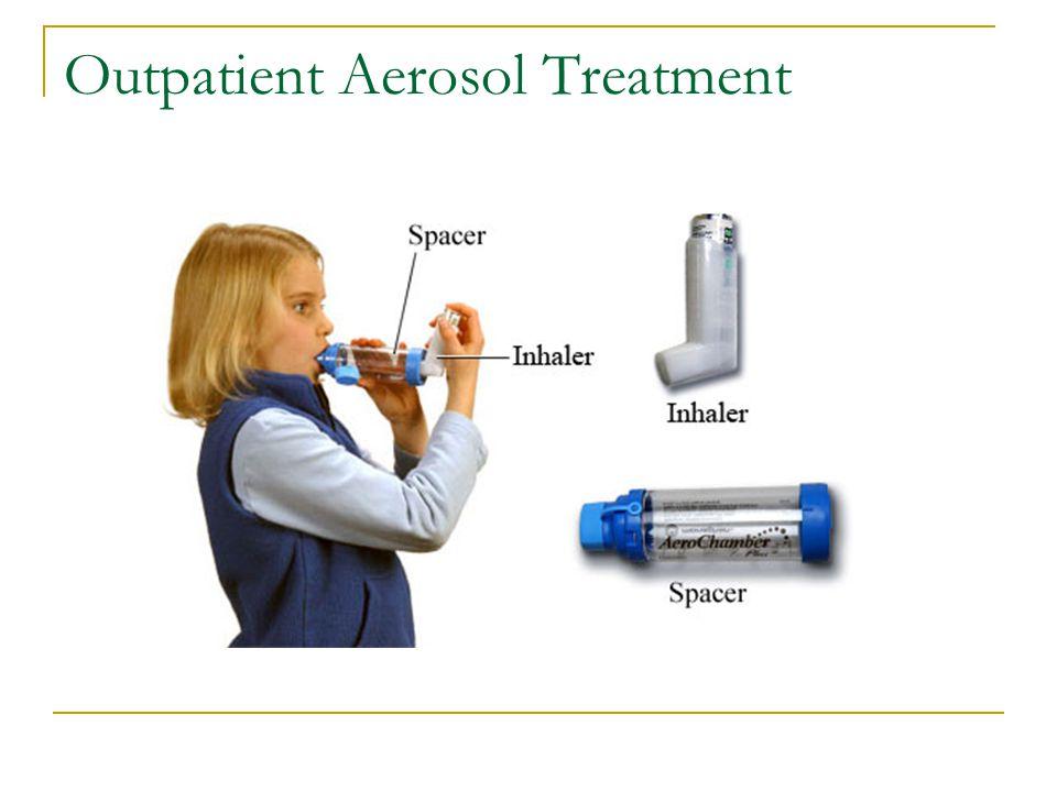 Outpatient Aerosol Treatment
