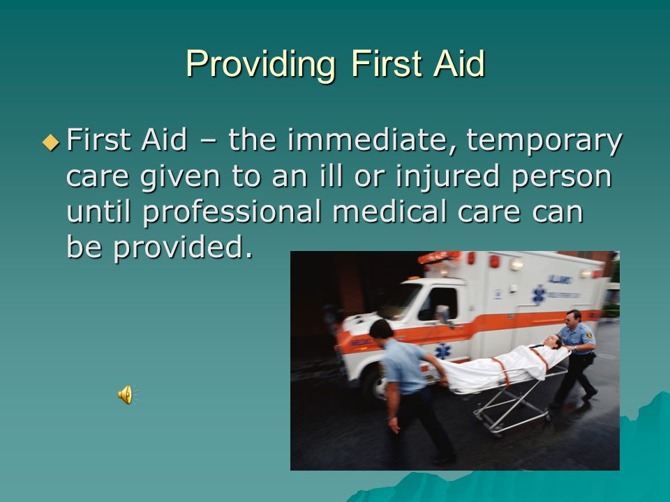 HEALTH 9  FIRST AID  OPEN WOUNDS  EMERGENCY SITUATIONS