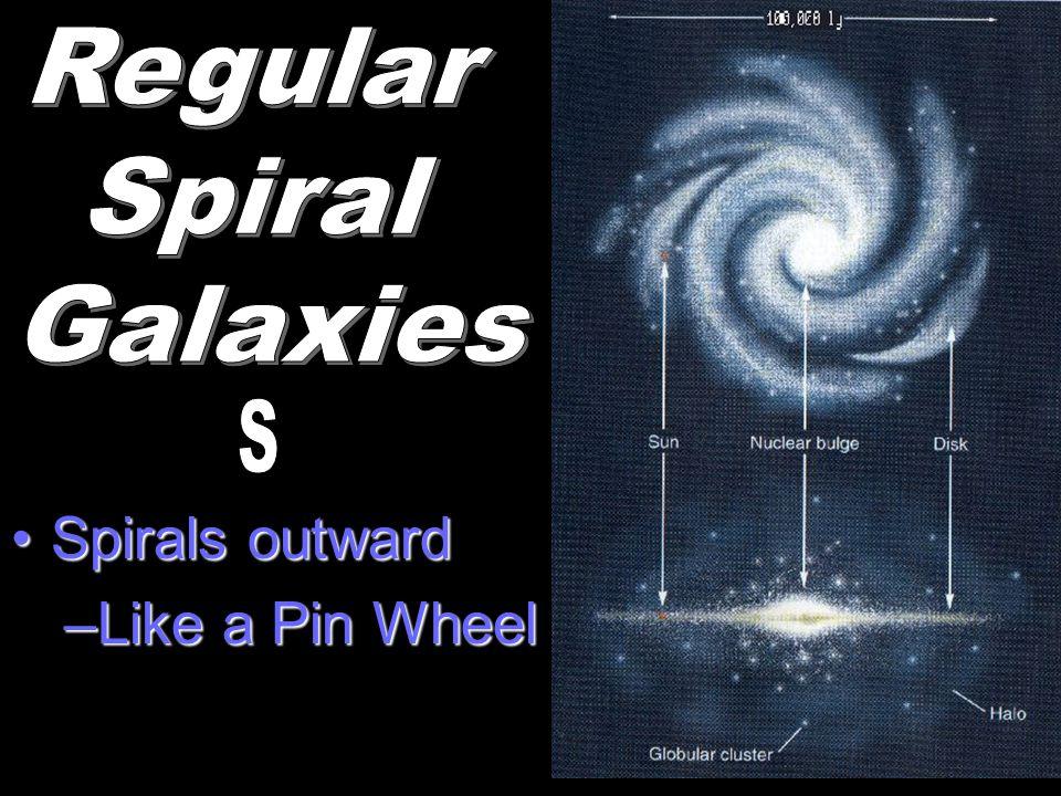 Spirals outwardSpirals outward –Like a Pin Wheel