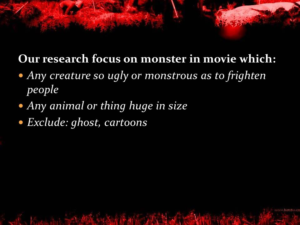 Factor Affecting the Choice of Movies