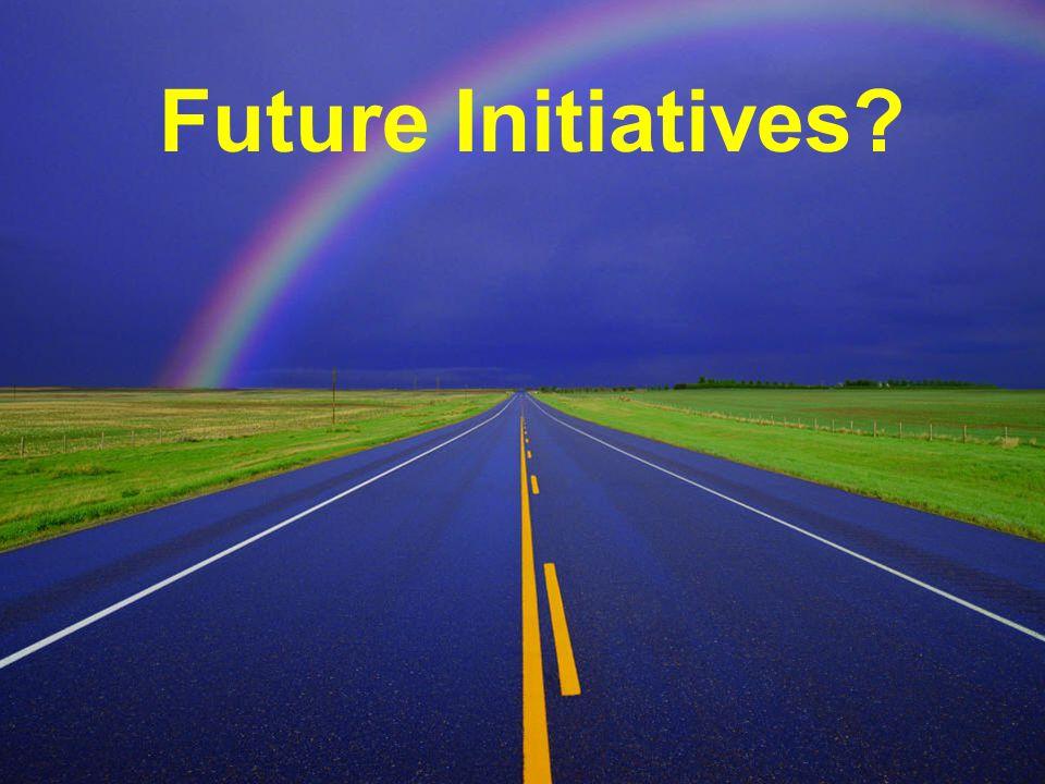 Future Initiatives Future Initiatives?